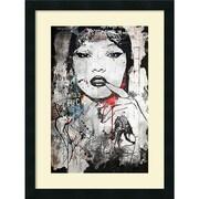 "Amanti Art ""Princess of China"" Framed Art Print by Alex Cherry, 24""H x 18""W"