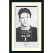 Amanti Art Frank Sinatra Mugshot Framed Art Print, 43.13H x 28.13W