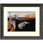 Amanti Art The Persistence of Memory, 1931 Framed Art Print by Salvador Dali, 13.88H x 17.75W