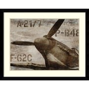 Amanti Art Vintage Airplane Framed Art Print by Dylan Matthews, 32.63H x 40.63W