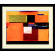 Amanti Art Welcome to Color Framed Art Print by Gary Max Collins, 32.63H x 38.63W