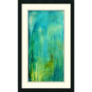 "Amanti Art ""Blue Mountain Rain I"" Framed Art Print by Erin Ashley, 31""H x 19""W"