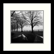 Amanti Art After the Rain Framed Art Print by Harold Silverman, 13H x 13W