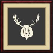 Amanti Art Harrison Moose Framed Art Print by Carly Lawrence, 28H x 28W
