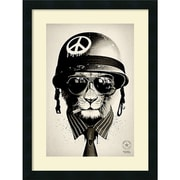 "Amanti art ""Office Warfare"" Framed Art Print, 24""H x 18""W"