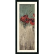 "Amanti Art ""From Scarlett's Garden I"" Framed Art Print by Luis Solis, 42""H x 18""W"