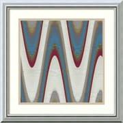 "Amanti Art ""Radio Waves I"" Framed Art Print by Ricki Mountain, 18""H x 18""W"