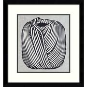 """Amanti Art """"Ball of Twine, 1963"""" Framed Art Print by Roy Lichtenstein, 15.38""""H x 14.63""""W"""