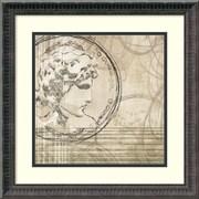 Amanti Art Neoclassic IV Framed Art Print by Amori, 18.25H x 18.25W