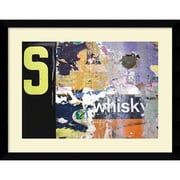 Amanti Art Whisky Layers Framed Art Print by Jenny Kraft, 28.63H x 36.63W