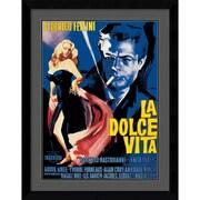 Amanti Art La Dolce Vita Framed Art Print, 36.38H x 28.63W