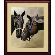 Amanti Art Friends, 1994 Framed Art Print by Chloe Henderson, 33H x 28W