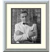 Amanti Art Sean Connery Framed Art Print, 18H x 16W