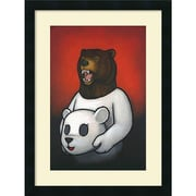 Amanti Art Bear in Mind Framed Art Print by Luke Chueh, 24H x 18W
