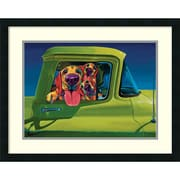 "Amanti Art ""I Wanna Go!"" Framed Art Print by Ron Burns, 21.5""H x 27""W"