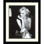 Amanti Art Marilyn Monroe, Hollywood 1952 Framed Art Print, 30.38H x 25.63W