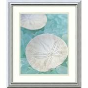Amanti Art Seaglass 3 Framed Art Print by Alan Blaustein, 20H x 17W
