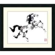 Amanti Art The Prince Framed Art Print by Nan Rae, 18H x 21W