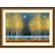"Amanti Art ""Blue Moon"" Framed Art Print by Melissa Graves-Brown, 32.75""H x 43.75""W"
