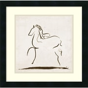 "Amanti Art ""Horse I"" Framed Art Print by Tom Reeves, 18""H x 18""W"