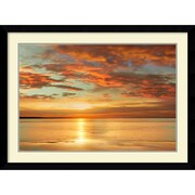 "Amanti Art ""Sunlit"" Framed Art Print by John Seba, 31.63""H x 42.63""W"