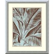 Amanti Art Leaf 17 Framed Art Print, 22H x 18W