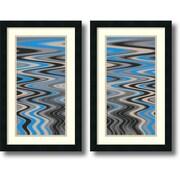 Amanti Art River Runs Deep - Set of 2 Framed Art Print by Ricki Mountain, 24H x 15W