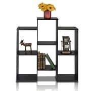 "Furinno® 35.7"" x 36.2"" Laminate & Wood Bookcase"