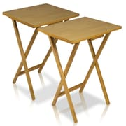 """Furinno® 25.4"""" x 19"""" Wood TV Tray Table"""