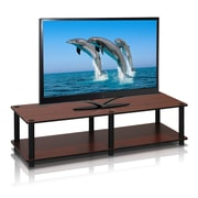 "Furinno® 10.9"" x 41.3"" Rubber Trees & Polyvinyl Chloride Television Stand"
