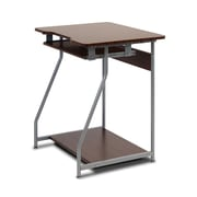Furinno Besi Office Computer Desk, Dark Wood Grain (FNBL-22001)
