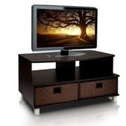 "Furinno® 19.1"" x 37.8"" Wood TV Stand"