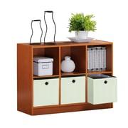 Furinno® Bookcase Storage with Bins