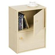 Furinno® 2 Tier Bookcase Laminate & Wood