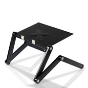 Furinno® Adjustable Multifunctional Laptop Desk Metal & Aluminium