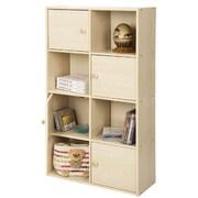 "Furinno® 41.7"" x 23.6"" Wood Storage Shelf"