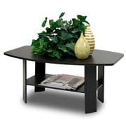 Furinno® Simple Design Coffee Table, Espresso