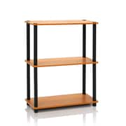 Furinno® Composite Wood Shelf Display Rack, Light Cherry