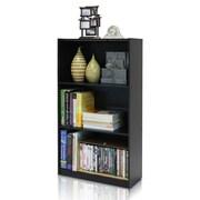 """Furinno® 39.5"""" x 21.8"""" Composite Wood Bookcase Espresso"""