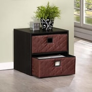 Furinno® Composite Wood Storage Cube with Bin