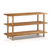 "Furinno® 16"" x 27.6"" Wood Shoe Rack"