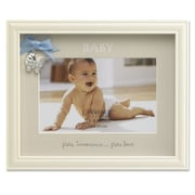 Lawrence Frames 440364 Ivory Resin 6.9 x 8.5 Picture frame, Blue Ribbon