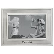 "Lawrence Frames 505464 Silver Metal 9.06"" x 11.06"" Picture Frame"