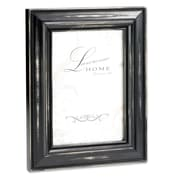 "Lawrence Frames 640057 Weathered Black Wood 10.98"" x 8.98"" Picture Frame"