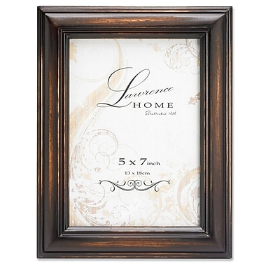 Lawrence Frames 640157 Weathered Espresso Wood 7.76
