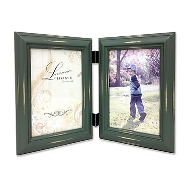 Lawrence Frames 640346D Weathered Green Wood 6.22