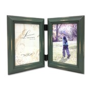 """Lawrence Frames 640346D Weathered Green Wood 6.22"""" x 4.13"""" Picture Frame"""