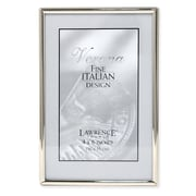 "Lawrence Frames 650046 Silver Metal 6.14"" x 4.13"" Picture Frame"