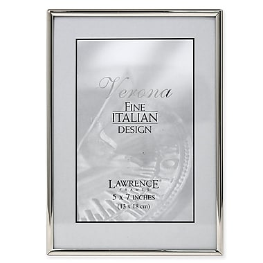 Lawrence Frames 650057 Silver Metal 7.13