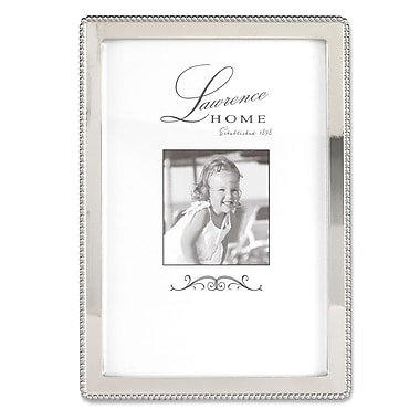 Lawrence Frames 710746 Silver Metal 6.54